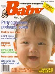 Baby Magazine, October 2005.