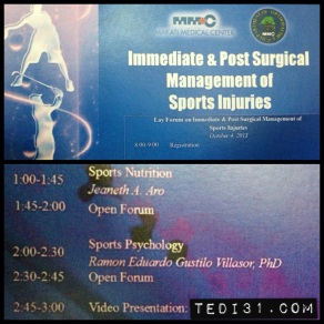 Immediate and Post Surgical Management of Sports Injuries
