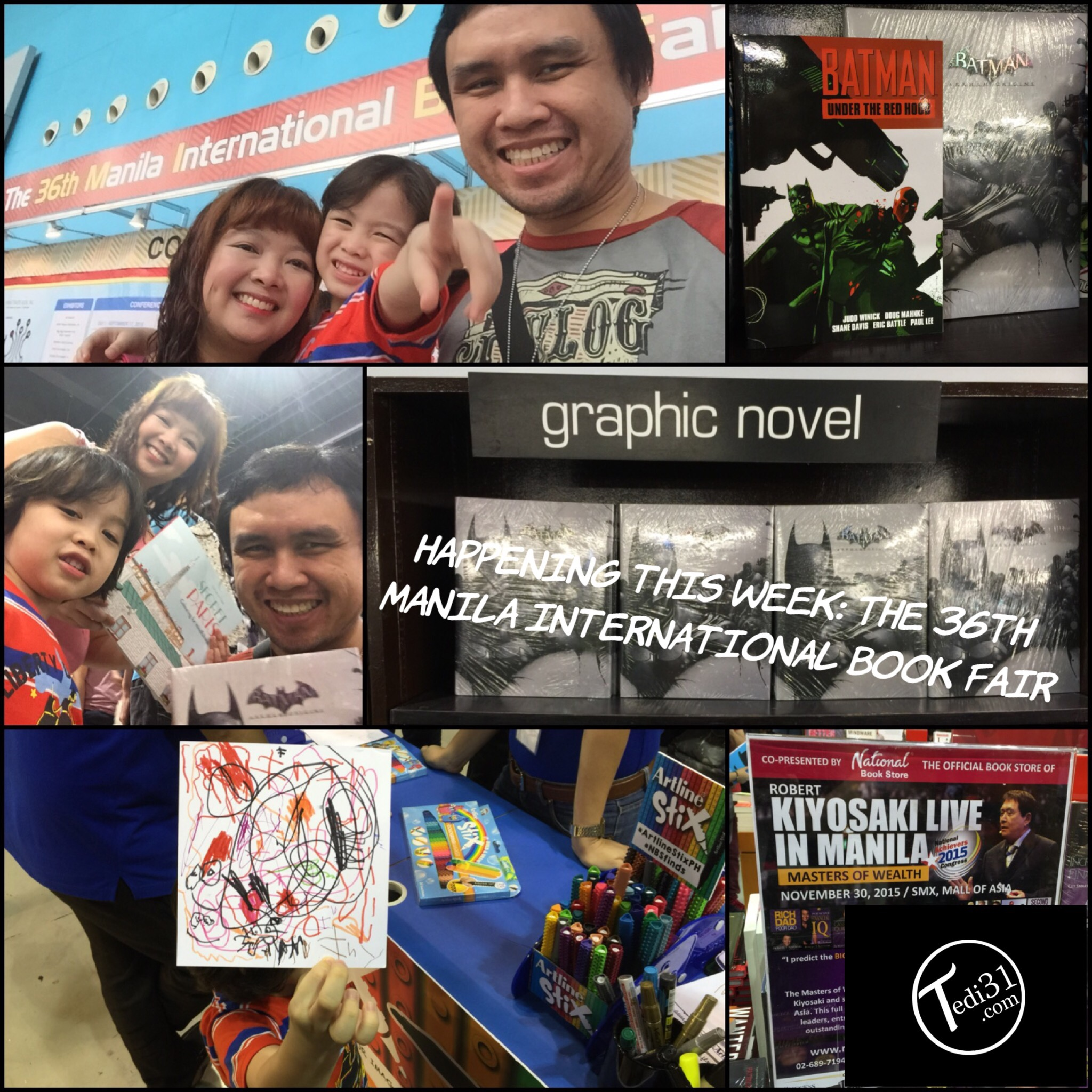From L To R AntFam At MIBF2015