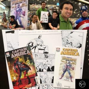 Captain America #1 Signing 2018